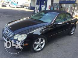 Mercedes CLK Convertible Black 2005