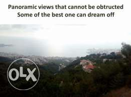 Shnaanhir 1035 sqm one of the most beautiful lot panoramic views