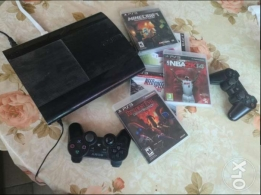 Ps3 with several games