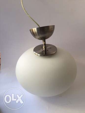 Suspension lamp 30x18cm 1 bulb