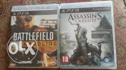 2 Ps3 CDs In Very Good Condition