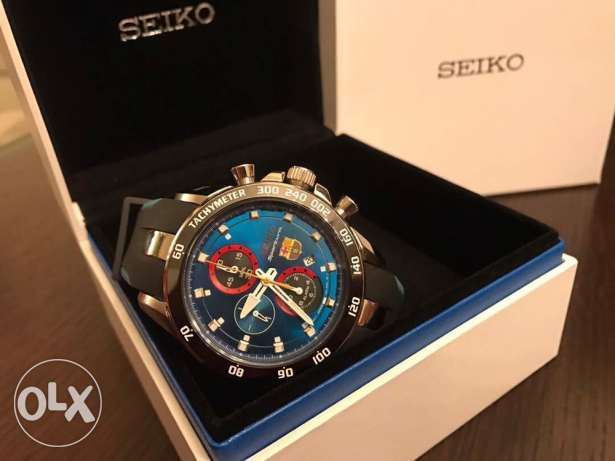 The new BARCA Seiko Blue edition (brand new with the warranty)