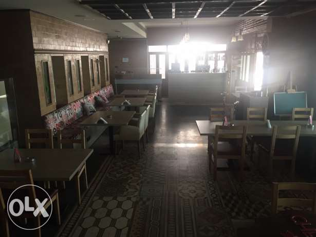 restaurant for rent facing LAU university Jbeil
