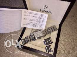 rovina watch certificat de garantie special price from 350$ to 150$!!
