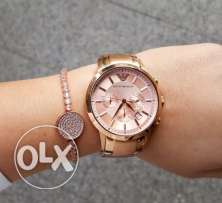 Beautifull rose gold watch for her