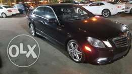 Mercedes E350 luxury package Amg kit interior black ajnabieh super cle
