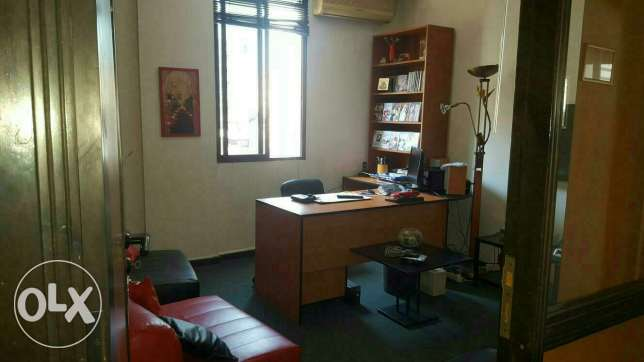 Furnished office for rent in baouchriye