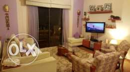 Ballouneh 120m2-cozy decorated apartment-panoramic view