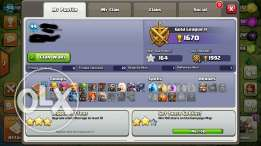 Account for clash of clans