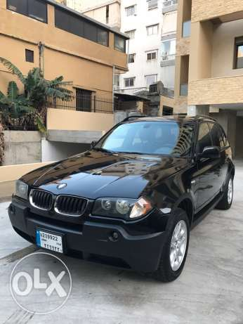 BMW X3 Full Black & Black 2004 Panoramic