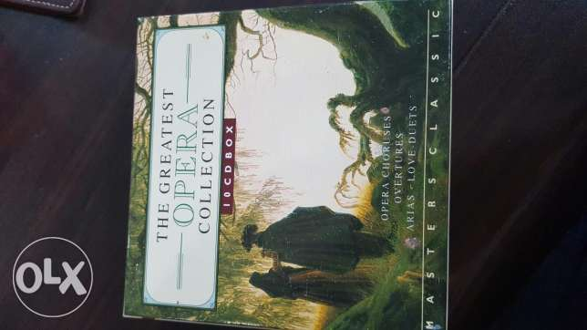 The greatest Opera Collection 10 cds