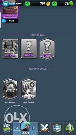 Clash royal lvl 11 with all legendery except sparky and inferno dragon