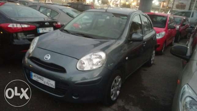 Nissan micra 2013 fully loaded 41000 km انطلياس -  2