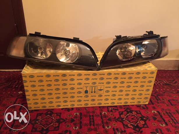 BMW E39 Hella headlights crystal شويفات -  1