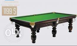 tennis and billiard table
