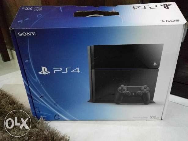 Original PS4 with three games