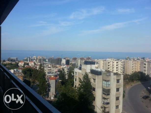 Apartment with a sea view for sale in Naccache (non-blocked sea view)