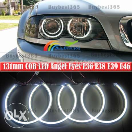 bmw car accessoires e39 led light for rings color super white