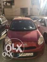 NISSAN MICRA, color RED, 2014, sell asap