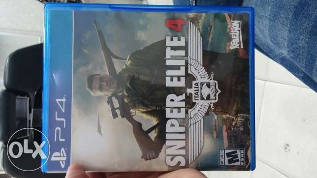 Sniper elite 4 ps4 game for sale or trade