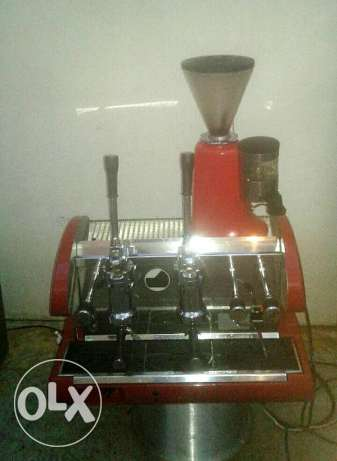Coffe machine pavoni with coffe grinder