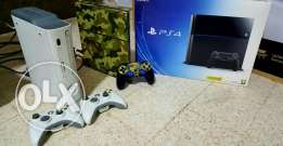 Playstation 4 and XBOX 360