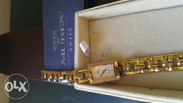 Murex Swiss watche made 23k gold plated