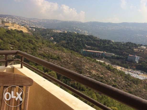 BAABDA Furnished apartment 3 bedrooms for rent with open view أشرفية -  3