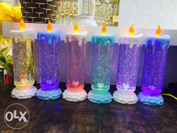 Christmas Colorful candle بعبدا -  1