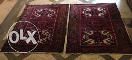 Pair of carpets