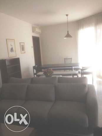 AMH176,Furnished apartment for rent in Achrafieh, 180 sqm, 7th Floor.
