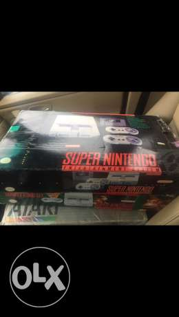 super nintendo complete in box