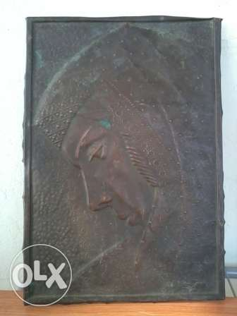 Ikonne antique, 3D on copper, soura madkouka nohas, 50$ negotiable