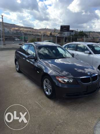 bmw 328i grey alba jeled aswad 2008