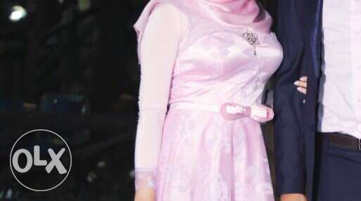 pink dress for sale ,used only 1 time