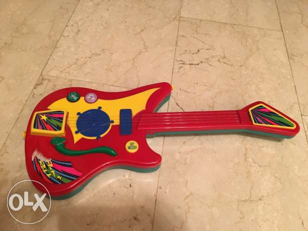electric guitar for kids with music