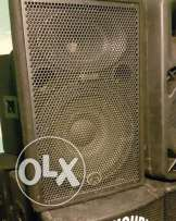 Sound system 4 speakers american wharfedale / dlx for dj & parties
