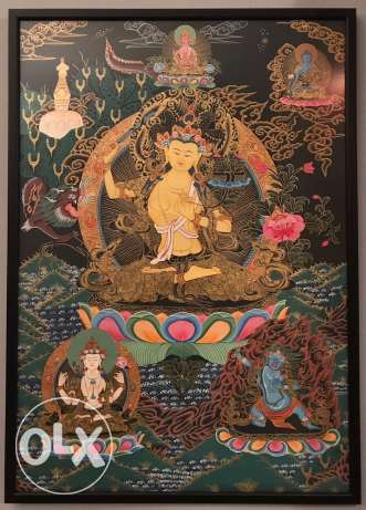 The Goddess of Wisdom Painting