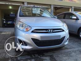 hyundai i10 , model 2014 , automatic , 7500 $