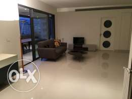 for rent sunny furnished flat in Ashrafieh