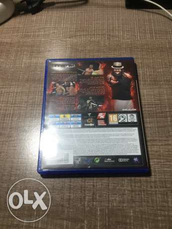WWE2k15 for sale dood condition.ps4 كسروان -  3