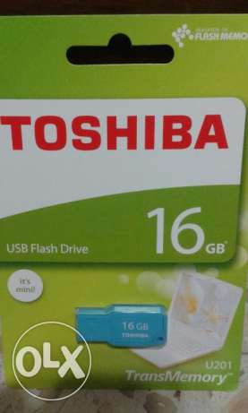 Toshiba USB 16GB 16G Mini Mikawa USB Flash Drive New ct حازمية -  1