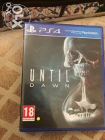 PS4 games, used once. Until Dawn - MGS Phantom