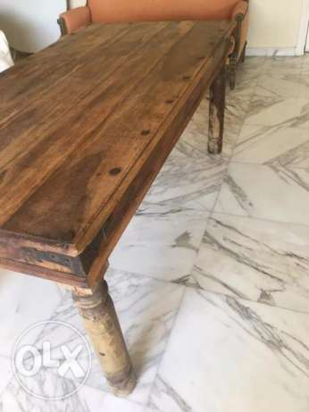Solid Wood Table (NEW)