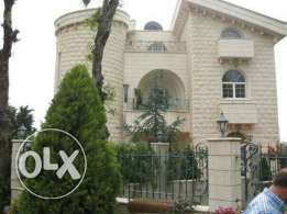 Beautiful villa for sale in ajaltoun mount Lebanon with underground parking , garden and panoramic view and a room lal concierge