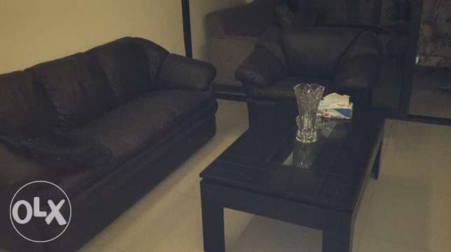 Leather living room for sale