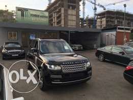 Range rover Vogue supercharged SE 2014 night blue on blue, GERMAN !!!