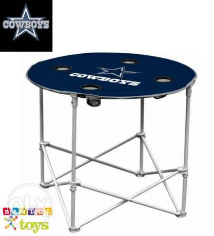 Dallas Cowboys Round Table by Logo Chair® brand new for only 40$