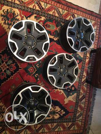 Wrangler Rubicon X Rims for sale