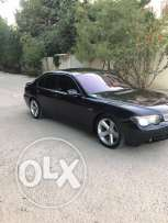 BMW 735 model 2002 full zawayed afresh aswad